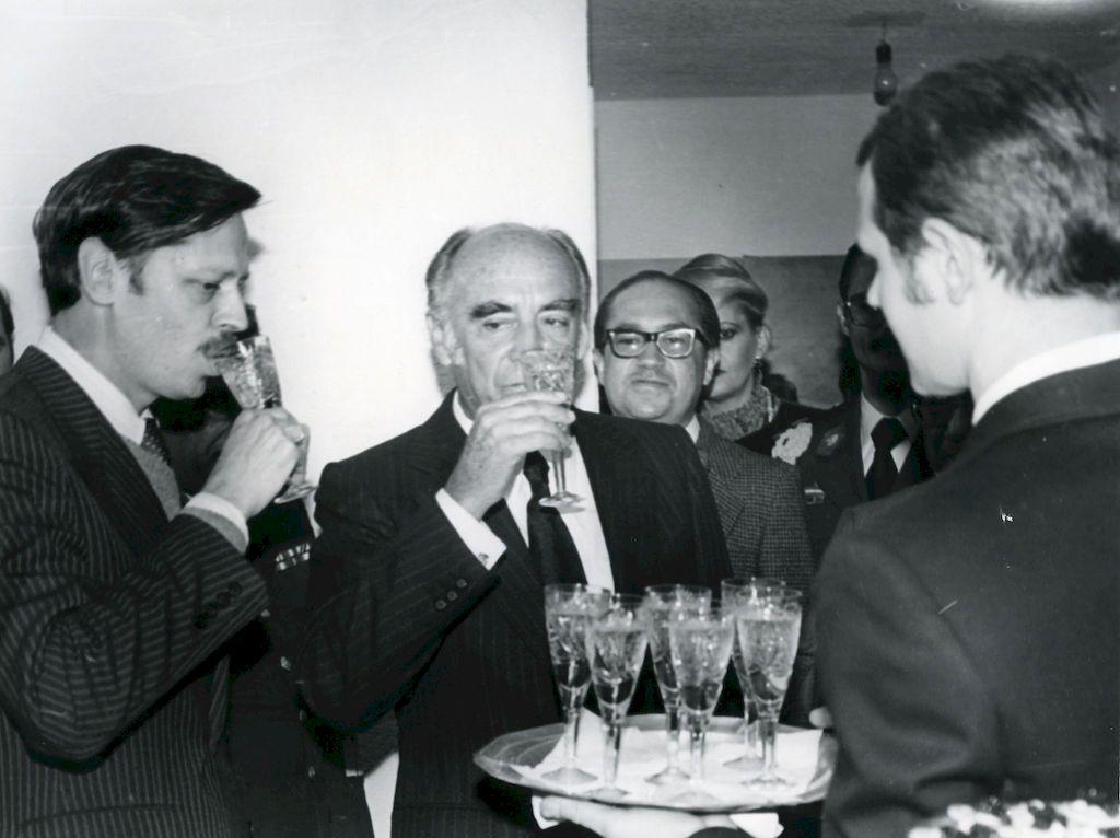 Открытие нового Бюро АПН, Мехико, 1981 г.
